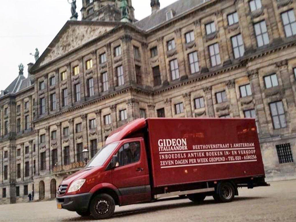 Gideon Italiaander - Opkoper en Partijhandelaar - Vrachtwagen